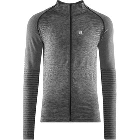 Compressport Seamless Sweatshirt met Rits, grey melange